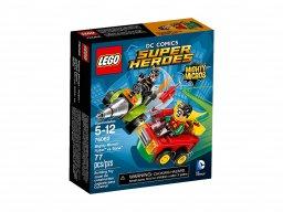 Lego DC Comics™ Super Heroes Robin kontra Bane 76062