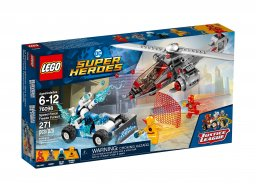 LEGO DC Comics Super Heroes Lodowy superwyścig 76098