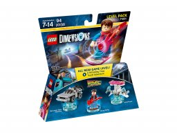 LEGO Dimensions™ Back to the Future™ Level Pack 71201