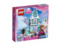LEGO Disney™ Błyszczący lodowy zamek Elzy 41062