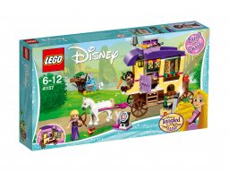 LEGO Disney Karawana podróżna Roszpunki 41157