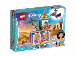 LEGO 41161 Disney™ Pałacowe przygody Aladyna i Dżasminy