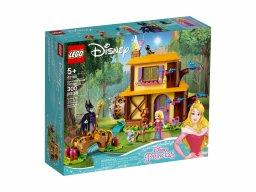 LEGO Disney Leśna chatka Aurory 43188