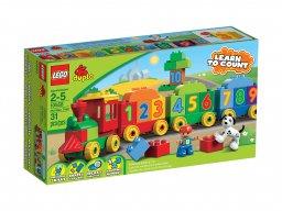 LEGO Duplo 10558 Pociąg z cyferkami