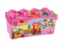 LEGO Duplo® 10571 Zestaw z różowymi klockami