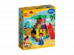 LEGO 10604 Duplo Jake i piraci z Nibylandii na Wyspie Skarbów