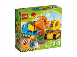 LEGO 10812 Ciężarówka i koparka gąsienicowa