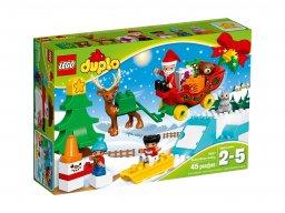 LEGO Duplo® Zimowe ferie Świętego Mikołaja