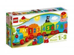 LEGO Duplo® Pociąg z cyferkami 10847