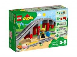 LEGO 10872 Tory kolejowe i wiadukt