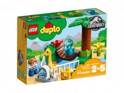 """LEGO Duplo 10879 Minizoo """"Łagodne olbrzymy"""""""