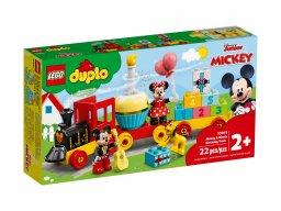 LEGO 10941 Urodzinowy pociąg myszek Miki i Minnie