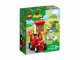 LEGO Duplo Traktor i zwierzęta gospodarskie 10950