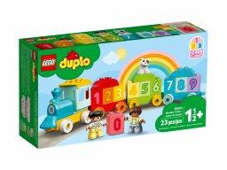 LEGO Duplo Pociąg z cyferkami — nauka liczenia 10954
