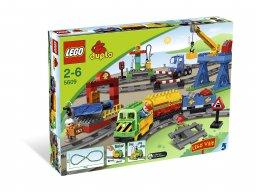 LEGO 5609 Duplo Pociąg Duplo - Zestaw Deluxe