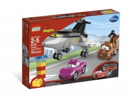 LEGO Duplo Ścigawa na ratunek 6134