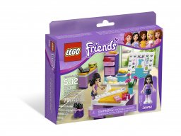 LEGO Friends 3936 Studio projektowe Emmy