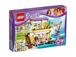 LEGO Friends Letni domek na plaży 41037