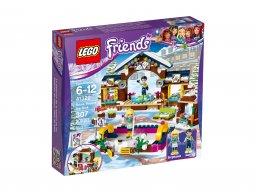LEGO 41322 Friends Lodowisko w zimowym kurorcie