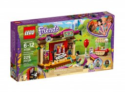 LEGO Friends Pokaz Andrei w parku 41334