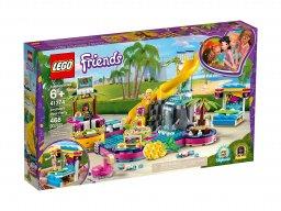 LEGO 41374 Friends Impreza Andrei na basenie