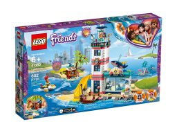 LEGO 41380 Friends Centrum ratunkowe w latarni morskiej