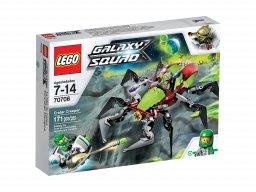 LEGO Galaxy Squad 70706 Pełzacz z krateru