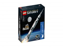 LEGO 21309 Ideas Rakieta NASA Apollo Saturn V