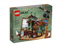 Lego Ideas Stary sklep wędkarski