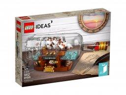 LEGO 21313 Ideas Statek w butelce