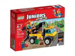 LEGO Juniors Ciężarówka do robót drogowych 10683