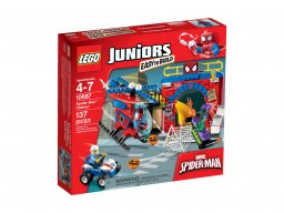 LEGO Juniors Kryjówka Spider-Mana™ 10687