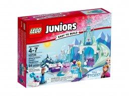 LEGO Juniors Plac zabaw Anny i Elsy z Krainy Lodu