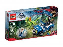LEGO Jurassic World 75916 Zasadzka dilofozaura