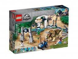LEGO 75937 Jurassic World™ Atak triceratopsa