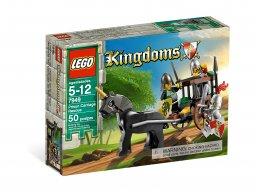 LEGO Kingdoms Ratunek z powozu więziennego 7949