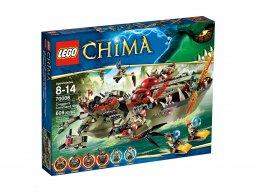 LEGO 70006 Krokodyla łódź Craggera
