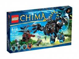 LEGO Legends of Chima™ Goryli cios Gorzana 70008