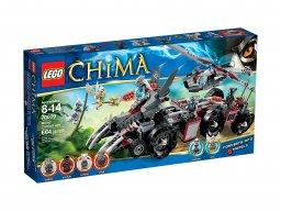 LEGO 70009 Legends of Chima Pojazd bojowy Worriza