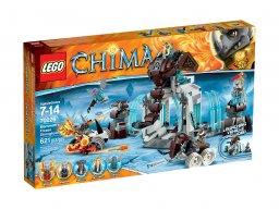 LEGO Legends of Chima™ Lodowa forteca plemienia mamutów