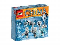 LEGO Legends of Chima™ Plemię lodowych niedźwiedzi 70230