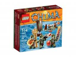 LEGO 70231 Legends of Chima Plemię krokodyli