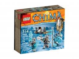 LEGO 70232 Legends of Chima Plemię tygrysów szablozębnych