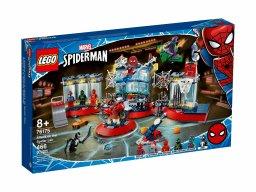 LEGO Marvel 76175 Atak na kryjówkę Spider-Mana