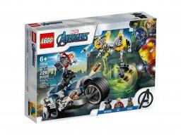 LEGO Marvel Avengers 76142 Avengers Walka na motocyklu