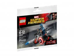 LEGO Marvel Super Heroes Captain America's Motorcycle 30447