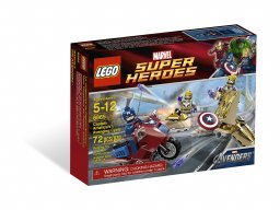 LEGO 6865 Marvel Super Heroes Captain America's™ Avenging Cycle