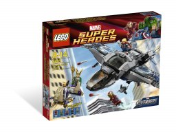 LEGO Marvel Super Heroes Quinjet Aerial Battle 6869