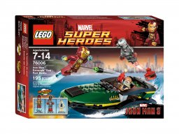 LEGO Marvel Super Heroes 76006 Iron Man™: Bitwa o port Extremis™