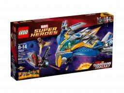 Lego Marvel Super Heroes 76021 Statek kosmiczny Milano